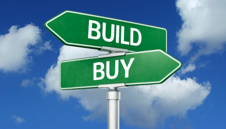 Which happens to be Cheaper: To purchase or Build New?